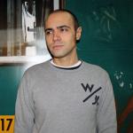 Il docente dei corsi di pittura Sebastiano Zanetti